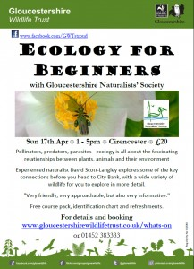 Ecology for beginners course 2016